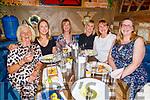 Mary Field, Donna Walker, Maura Locke, Anna O'Brien, Kathy Irwin and Sinead O'Shea enjoying the evening in the Mall Tavern on Friday.