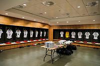 Dublin, Ireland - Saturday June 02, 2018: USMNT locker room vs Republic of Ireland during an international friendly match between the men's national teams of the United States (USA) and Republic of Ireland (IRE) at Aviva Stadium.