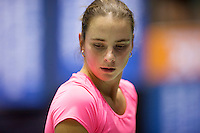 Rotterdam,Netherlands, December 15, 2015,  Topsport Centrum, Lotto NK Tennis, Bibiane Weijers (NED) <br /> Photo: Tennisimages/Henk Koster