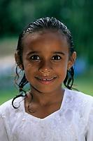 child inhabits the island, Fernando de Noronha National marine sanctuary, Pernambuco, Brazil, South Atlantic Ocean