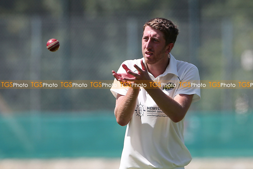 Daniel Carter of Harold Wood during Wanstead and Snaresbrook CC vs Harold Wood CC, Hamro Foundation Essex League Cricket at Overton Drive on 17th July 2021
