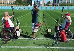 Bob Hudson and Alec Denys, Toronto 2015 - Para Archery // Paratir a l'arc.<br /> Highlights from the Para Archery events // Faits saillants des événements de paratir à l'arc.<br /> 09/08/2015.
