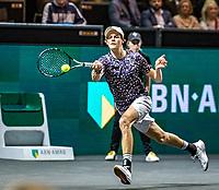 Rotterdam, The Netherlands, 9 Februari 2020, ABNAMRO World Tennis Tournament, Ahoy, Jannik Sinner (ITA).<br /> Photo: www.tennisimages.com