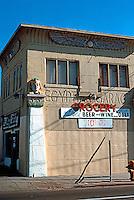 San Diego: Egyptian Garage, University Ave. at Euclid, c. 1920. (Photo 1990)
