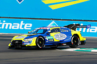 23rd August 2020, Lausitz Circuit, Klettwitz, Brandenburg, Germany. The Deutsche Tourenwagen Masters (DTM) race at Lausitz;  Mike Rockenfeller GER, Audi Team Phoenix, Audi RS5 DTM over the curbing
