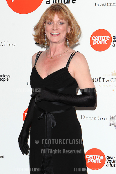 Samantha Bond arriving for the Downton Abbey Ball, The Savoy, London.  30/04/2015 Picture by: Alexandra Glen / Featureflash