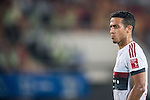 Thiago of Bayern Munich looks on during the Bayern Munich vs Guangzhou Evergrande as part of the Bayern Munich Asian Tour 2015  at the Tianhe Sport Centre on 23 July 2015 in Guangzhou, China. Photo by Aitor Alcalde / Power Sport Images