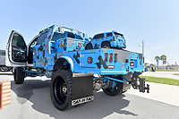 DAYTONA BEACH, FL - SEPTEMBER 05:  Skoops Marketing Group  at the 2020 Daytona Truck Meet which is The LARGEST truck show in the world! PRESENTED BY AMERICAN FORCE WHEELS with over 35,000 spectators, 100s of vendors, burn out pit, and live entertainment. Trucks are all the rage with Celebrities like Shaquille O'Neal, Lady GaGa, Dwayne Johnson and Kid Rock just to name a few at Daytona International Speedway on September 5, 2020 in Daytona Beach, Florida.<br /> <br /> People:  Skoops Marketing Group