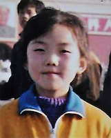 Yuan Yuan (9), born in Oct 1985. Missing near Xiao Jie Primary School at Li Yuan County in Tongzhou (a suburb outside Beijing) on 13 Jun1994.   Girls in China are increasingly targeted and stolen as there is a shortage of wives as the gender imbalance widens with 120 boys for every 100 girls..PHOTO BY SINOPIX