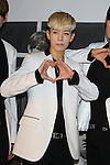 Kim Jae-Ho (HISTORY), Aug 26, 2015 : South Korean pop group HISTORY attends the promotional event in Tokyo, Japan on August 26, 2015. (Photo by AFLO)