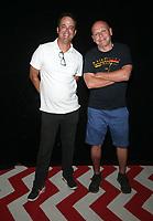 Los Angeles, CA -October 16: Greg Baldwin, Matt Pinfield, attends Shindig Comedy Show at Silver Lake Community Church in Los Angeles California on October 18, 2020. Credit: Faye Sadou/MediaPunch