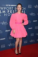 Erin Doherty<br /> arriving for the Newport Beach Film Festival UK Honours 2020, London.<br /> <br /> ©Ash Knotek  D3551 29/01/2020