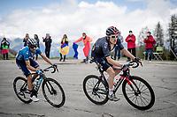 Geraint Thomas (GBR/Ineos Grenadiers) up the finale towards La Plagne (HC/2072m/17.1km@7.5%) <br /> <br /> 73rd Critérium du Dauphiné 2021 (2.UWT)<br /> Stage 7 from Saint-Martin-le-Vinoux to La Plagne (171km)<br /> <br /> ©kramon
