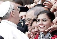 20130327 VATICANO: PRIMA UDIENZA GENERALE DI PAPA FRANCESCO