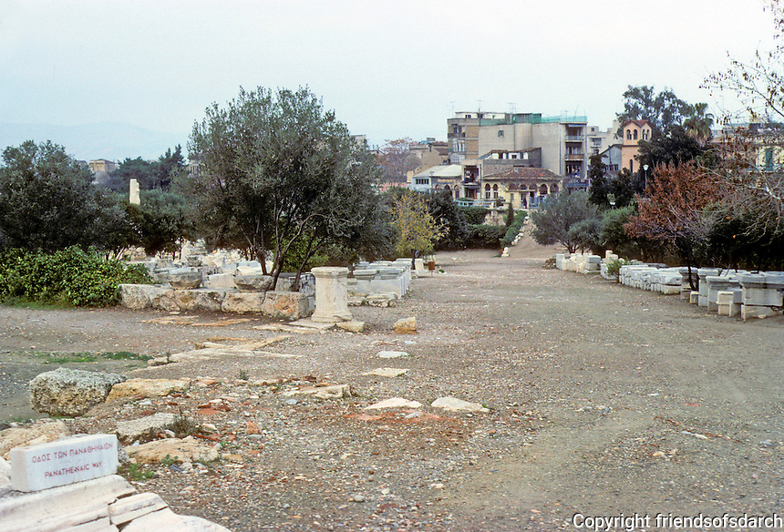 Athens: Excavation of the Agora. Photo '82.