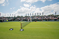Netherlands, Den Bosch, 18.06.2014. Tennis, Topshelf Open, Kidsday, Overall view Centercourt<br /> Photo:Tennisimages/Henk Koster