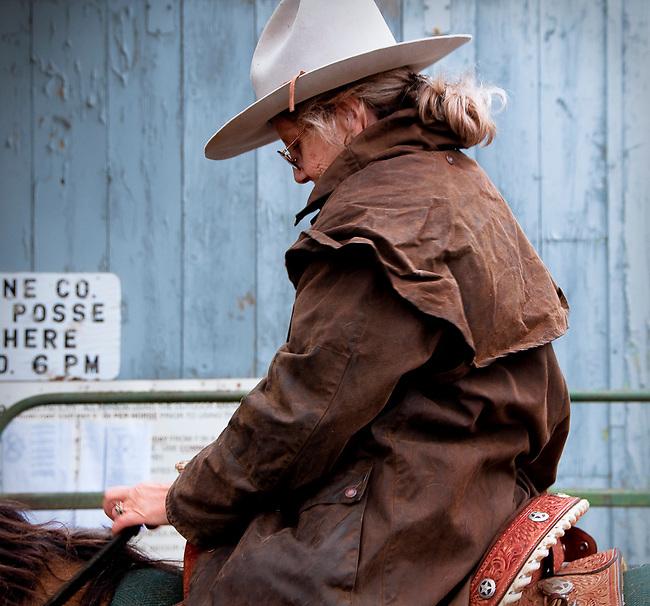 Rider in the Josephine Cty Sheriff's Posse