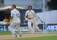 England captain Joe Root skies a Neil Wagner delivery during day four of the international cricket 2nd test match between NZ Black Caps and England at Seddon Park in Hamilton, New Zealand on Friday, 22 November 2019. Photo: Dave Lintott / lintottphoto.co.nz
