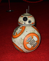 """BB-8 at the world premiere for """"Star Wars: The Last Jedi"""" at the Shrine Auditorium. Los Angeles, USA 09 December  2017<br /> Picture: Paul Smith/Featureflash/SilverHub 0208 004 5359 sales@silverhubmedia.com"""