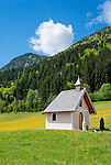 Austria, Tyrol, Pillersee Valley, St. Jakob in Haus: Lehrberg chapel   Oesterreich, Tirol, Pillerseetal, St. Jakob in Haus: Lehrbergkapelle