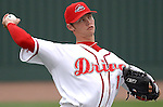 09 May 2006: RHP Clay Buchholz of the Greenville Drive, the Boston Red Sox affiliate of the Class A South Atlantic League, in a game against the Rome Braves. Photo by Tom Priddy.