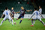 FC Kitchee Defender Krisztin Vadocz (c) in action during the AFC Champions League 2017 Preliminary Stage match between  Kitchee SC (HKG) vs Hanoi FC (VIE) at the Hong Kong Stadium on 25 January 2017 in Hong Kong, Hong Kong. Photo by Marcio Rodrigo Machado/Power Sport Images