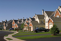 South Manor Court in the Allaire Manor Development in Spring Lake Heights, New Jersey. house, home, suburbs, suburban development, architecture, design. Spring Lake Heights New Jersey.