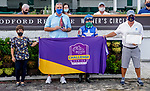 """September 3, 2020: Girl Daddy #11, ridden by Joe Talamo and trained by Dale Romans wins the Pocahontas Stakes (Grade III), a Breeders' Cup """"Win and You're In"""" Race for the Juvenile Fillies at Churchill Downs in Louisville, Kentucky. (Scott Serio/Eclipse Sportswire/CSM)"""