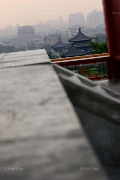 View south from the hill behind the Forbidden City