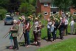 Fownhope Heart of Oak Society Herefordshire 2018.  Club Walk Day. Established as a Friendly Society in 1876 and reformed in 1989 when the law was changed regarding Friendly Societies.