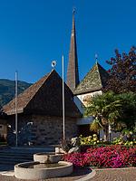 Pfarrkirche St. Josef in Algund bei Meran, Region Südtirol-Bozen, Italien, Europa<br /> parish church St. Joseph,  Lagundo near Merano, Region South Tyrol-Bolzano, Italy, Europe