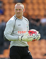 Graham Stack of Barnet during the Friendly match between Barnet and Crystal Palace at The Hive, London, England on 11 July 2015. Photo by David Horn.