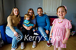 4 year old Allanah Foley with her family at home in Killorglin. Front Right: Allanah Foley.  Back l to r: Katelyn Cahallane, Adam Foley, Geraldine Dunleavy and Andrew Foley