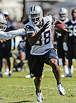 Dallas Cowboys wide receiver Dez Bryant (88) in action at the Dallas Cowboys 2012 Training Camp which was held at the Marriott Resident Inn football fields in Oxnard, CA.