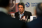 "Ex bastekball player Carmelo Cabrera during the presentation of the book ""Carmelo Cabrera, El globertrotter blanco"" at Barclaycard Center in Madrid, March 01, 2016<br /> (ALTERPHOTOS/BorjaB.Hojas"