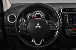 Car pictures of steering wheel view of a 2017 Mitsubishi Space-Star Instyle 5 Door Hatchback Steering Wheel