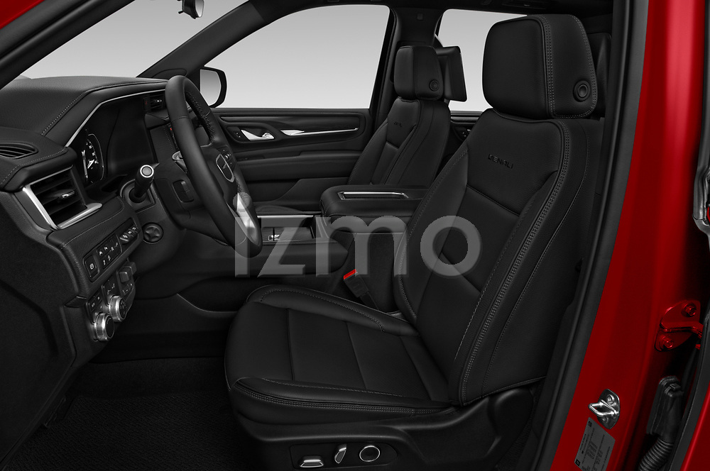 Front seat view of a 2021 GMC Yukon Denali - 5 Door SUV