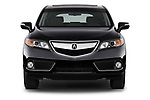 Car photography straight front view of a 2014-2015 Acura RDX Tech  5 Door SUV