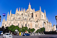 Catedral, 16th C gothic, Segovia, Spain