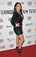 "Ella Jade attends the ""My Hero"" Raindance Film Festival UK film premiere, Vue Piccadilly cinema, Lower Regent Street, London, England, UK, on Friday 25 September 2015. <br /> CAP/CAN<br /> ©Can Nguyen/Capital Pictures"