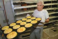 - bakery, making of focaccias....- forno per il pane, preparazione delle focaccie