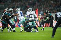 09.11.2014.  London, England.  NFL International Series. Jacksonville Jaguars versus Dallas Cowboys. Dallas Cowboys' Wide Receiver Dwayne Harris (#17)