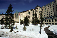 Lake Louise (AB) CANADA -File Photo-<br /> <br /> Chateau Lake Louise in the Rockies