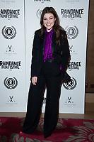 "Georgie Henly<br /> arriving for the ""Stardust"" premiere part of the Raindance Film Festival 2020, at the Mayfair Hotel, London.<br /> <br /> ©Ash Knotek  D3563 28/10/2020"
