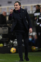 Cesare Prandelli coach of ACF Fiorentina reacts during the Serie A football match between ACF Fiorentina and Spezia Calcio at Artemio Franchi stadium in Firenze (Italy), February 19, 2021. Photo Image Sport / Insidefoto