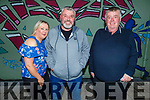 Mary Cronin Power, Mike and Noel Power enjoying the evening in Tralee on Saturday.