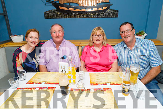 Eileen, Martin, Maureen and Noel Fleming enjoying the evening in Benners Hotel on Saturday