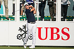 Nino Bertasio of Italy tees off the first hole during the 58th UBS Hong Kong Golf Open as part of the European Tour on 08 December 2016, at the Hong Kong Golf Club, Fanling, Hong Kong, China. Photo by Marcio Rodrigo Machado / Power Sport Images