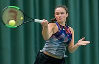 Wateringen, The Netherlands, March 16, 2018,  De Rhijenhof , NOJK 14/18 years, Nat. Junior Tennis Champ.  Gabriella Mujan (NED)<br />  Photo: www.tennisimages.com/Henk Koster