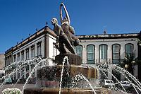 Spanien, Kanarische Inseln, Gran Canaria, Plaza de la Constiticion in Arucas